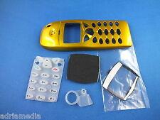 Front Cover Tastaturmatte Nokia 6110 6130 6150 GoldGehäuse Handyschale Neu Gelb