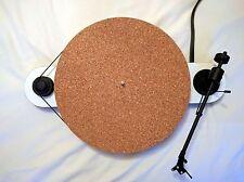 Ansarón Audio subermat 100% Corcho Tocadiscos PLATO registro estera de fieltro - 2mm