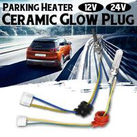🔥 Air Diesel Heater Ceramic Glow Plug 12/24V For Car Truck  Parking Heater Tool