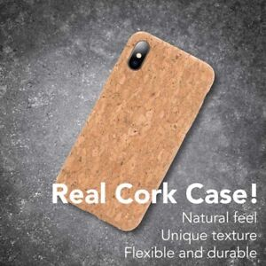 Vegan wooden cork case cover for iPhone 7/8 XR iPhone X XS MAX iPhone 11 Pro Max