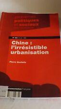 PPS N 682 du 12 Juin 1992 Chine L'irresistible urbanisation
