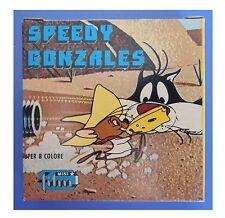 """Speedy Gonzales, """"Assalto alla cambusa"""", film super 8 colore muto 3 min (15 metr"""