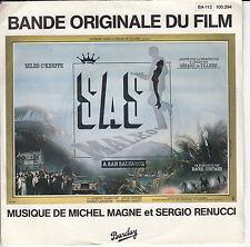 "45 T SP B.O.F ""S.A.S A SAN SALVADOR"" GERARD de VILLIERS / MICHEL MAGNE"