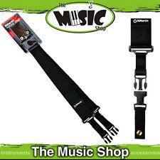 New Black Dimarzio Nylon Clip Lock Guitar Strap - DD2200 Cliplock Strap