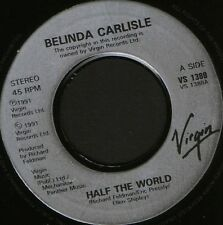 "BELINDA CARLISLE half the world uk virgin noc 7"" WS EX/"