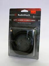 1500226 RadioShack S Video Cable 6' *New in Box*