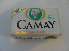 Vintage Camay Green Beauty Soap Bar NOS Contains Cold Cream