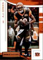2018 Panini Rookies and Stars Gold #67 A.J. Green 6/10 Bengals