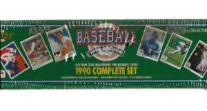 1990 UPPER DECK MLB CARD SET NEW SEALED 3D TEAM LOGO HOLOGRAMS
