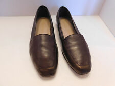 ENZO ANGIOLINI LADIES BRONZE SOFT LEATHER  LOAFERS SIZE  8.0 M