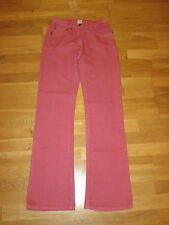 cotton traders stretch jeans size 10 leg 33 brand new  tags flamingo pink