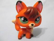 Littlest Pet Shop Happiest Red Cream Sly Fox Green Star Eyes 807 Lps