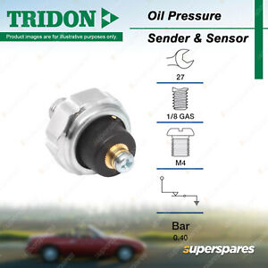 Tridon Oil Pressure Light Switch for Honda Odyssey Prelude S2000 Legend KA