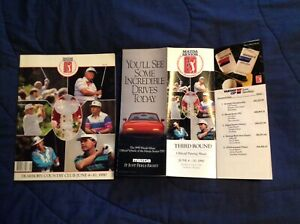 Mazda SENIOR Tournament Players Championship -1990 PROGRAM- DEARBORN program