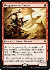 DRAGONMASTER OUTCAST Battle for Zendikar MTG Creature — Human Dragon Mythic Rare