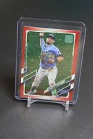 2021 Topps Series 1 Shortstop Willy Adames Red Foil #/199 -Tampa Bay Rays