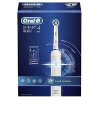 Oral-B Smart 4 4000N Rechargeable Toothbrush by BRAUN with 2 Brushheads