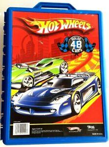 2009 Hot Wheels Blue 48 Car Storage Case Item 20020 Tara Toy Corp - Nice & Clean