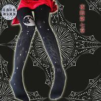 Halloween Theme Nights Lolita Stockings Printed Pantyhose Gothic Tights