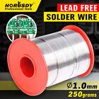 1.0mm Tin Lead Solder Wire Rosin Core Soldering 2.5% Flux Reel 250 gram 40/60