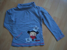 "Sous-pull gris fille 5 ANS ""Pucca"""