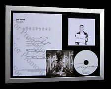 JUSTIN BIEBER Love Yourself TOP QUALITY CD FRAMED DISPLAY+EXPRESS GLOBAL SHIP