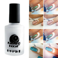 new Nail Art Tape Latex Tape Palisade For Easy Clean 15ml White Peel Off Liquid