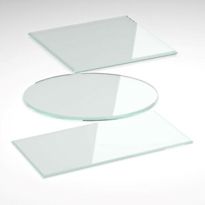 Glasplatte Klar Glas 6mm Tisch Tischplatte für Europalette oder Obstkiste