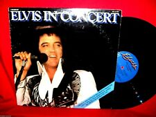 ELVIS PRESLEY Elvis in Concert Double LP 1977 USA MINT- First pressing