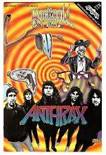 "Rock N'  Roll Comics #24 (1991)  FN/VF 1st Printing  ""Anthrax - Faith No More"""