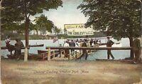 Lunenburg, MASSACHUSETTS - Whalom Park - 1910 - Amusement Park - Steamer Landing
