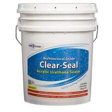 Rainguard Clear-Seal High Gloss Urethane/Acrylic Sealer 5Gal Concrete Wood Brick