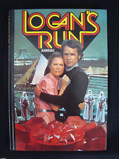 LOGAN'S RUN ANNUAL BOOK 1978 SIGNED BY WILLIAM F NOLAN GEORGE CLAYTON JOHNSON