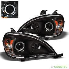 For 98-05 Mercedes Benz W163 ML Halo Pro Headlights Lamp Head Lights Set Pair