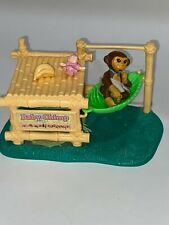 Vtg Kenner LITTLEST PET SHOP BABY CHIMP Nursery Zoo Playset 1993 Complete Set