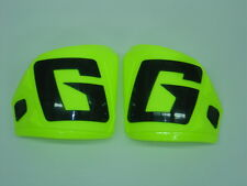Gaerne SG12 Motocross Boots Flo Yellow Front Plate Set 8 9 10 11 12 13 14