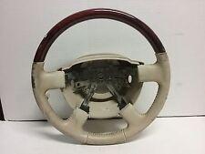 03 04 05 Lincoln Aviator tan steering wheel OEM worn
