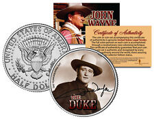 "John Wayne ""Young Wayne"" JFK  Kennedy Half Dollar US Coin *Officially Licensed*"