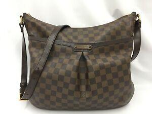 "Auth Louis Vuitton Damier Ebene Bloomsbury PM Shoulder Bag 1C240260n"""