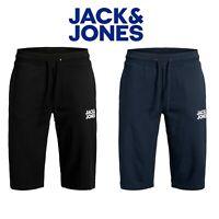 Jack & Jones Mens Sweat Shorts Elasticated Waist Gym Sports Joggers Half Pants