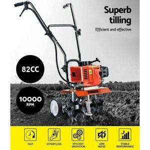 Tiller Cultivator 82CC Petrol - Rotary Hoe Garden Mini