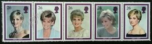Britain Princess Of Wales 1998 Royal Famous (stamp in strip of 5) MNH