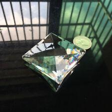 """3.0"""" Square Crystal Pendant Suncatcher Prism FENG SHUI Ornament Window Decor"""