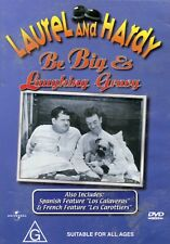 Laurel And Hardy - Be Big & Laughing Gravy - Brand New - Region 4 - Aust Seller