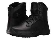 UNDER ARMOUR  1268951-001 STELLAR TA Mn's (M) Black Leather/Nylon Tactical Boots
