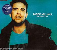 ROBBIE WILLIAMS - Old Before I Die (UK 3 Tk CD Single Pt 2)