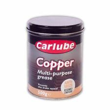 Carlube Copper Multi Purpose Grease 500g Anti-Seize Assembly Compound Tin