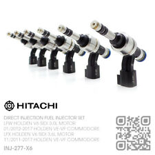 HITACHI DIRECT FUEL INJECTOR SET LFX V6 SIDI 3.6L [HOLDEN VE-VF COMMODORE/UTE]