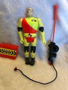 """1992 Crash Test Dummies 4.5/"""" Junkman Action Figure Complete Junkbot Tyco"""