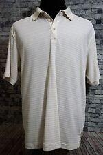 Tommy Bahama XL Beige Short Sleeve Casual Polo Shirt